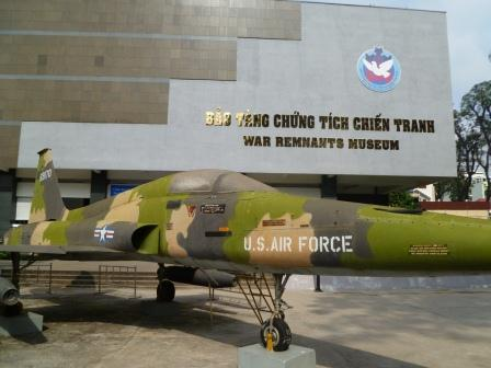 War Remnants Museum in Vietnam
