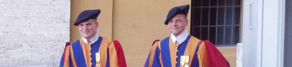 Photo Essay:  Swiss Guards at the Vatican