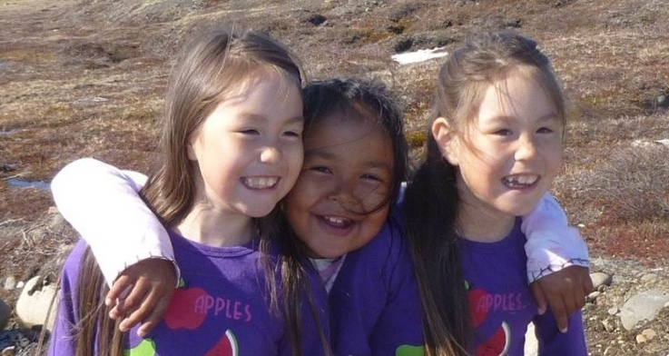 Photo Essay:  Adorable Greenland Girls