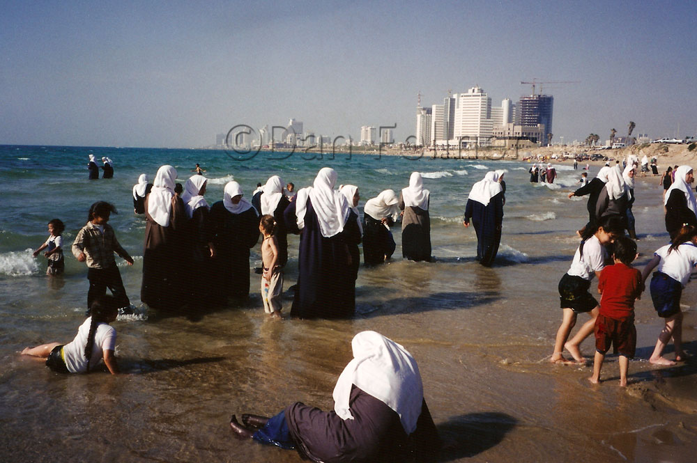 Jaffa Israel Arabs swimming