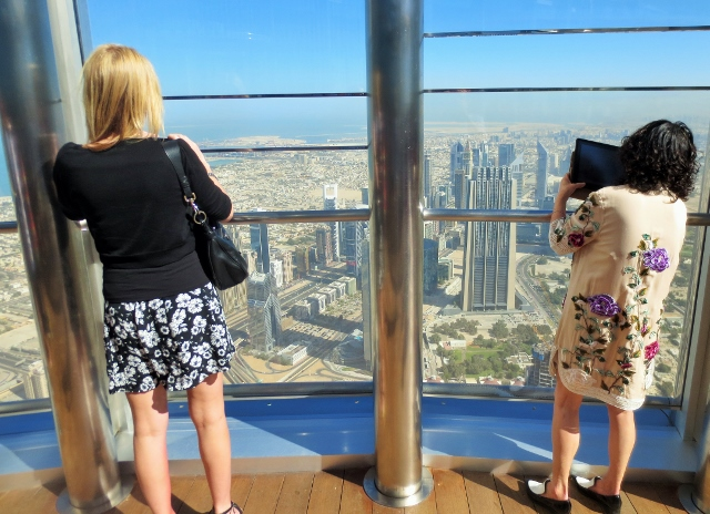 Burj Khalifa viewing platform