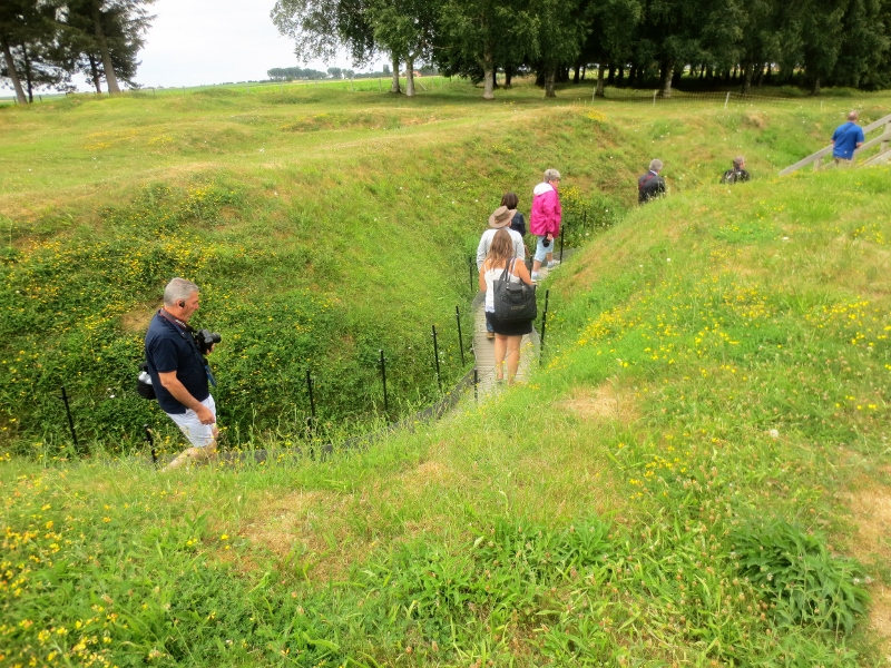 Somme trenches