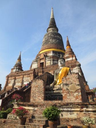 Ayutthaya Buddhist temple