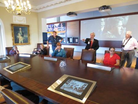 Cabinet Room at Clinton Library