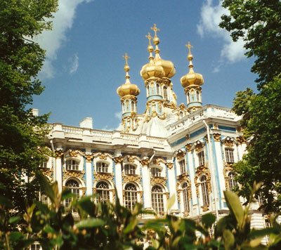 Catherine Palace near St. Petersburg, Russia