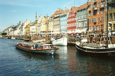 Copenhagen's Nyhavn district