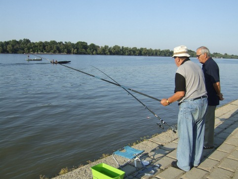 Belgrade Danube fishing