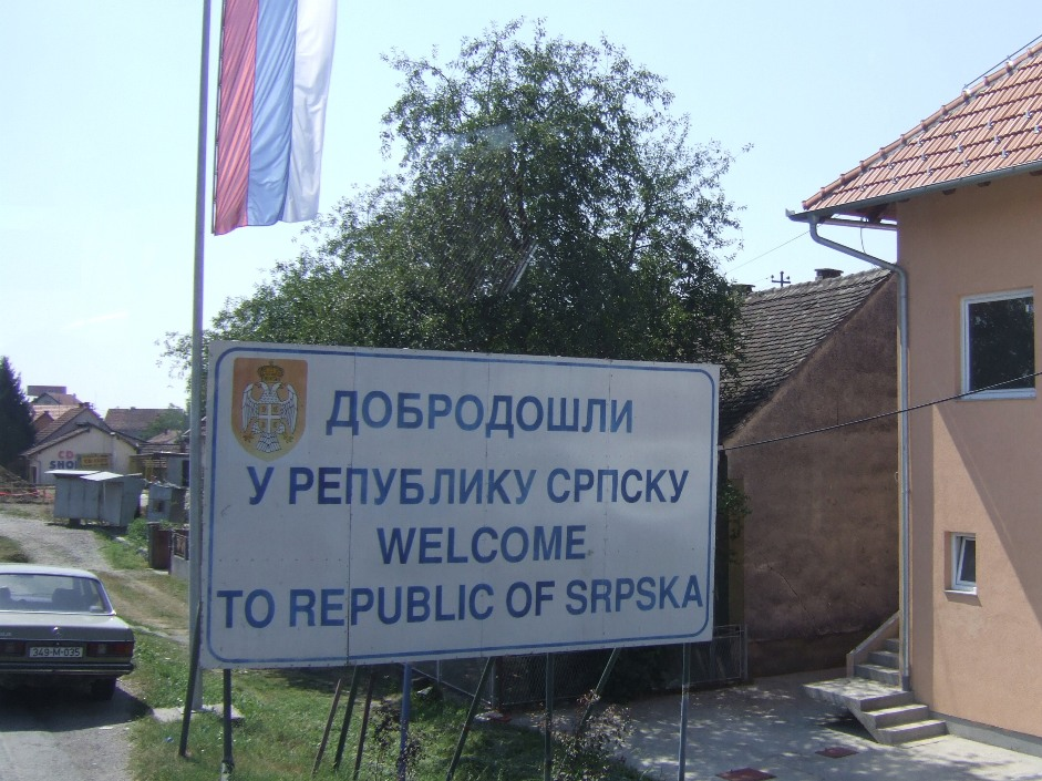 Entering the Republic of Srpska