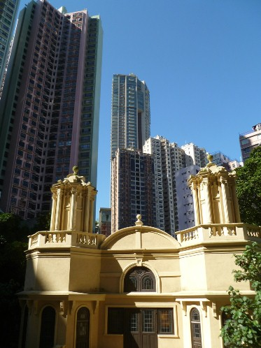 Ohel Leah Synagogue in Hong Kong