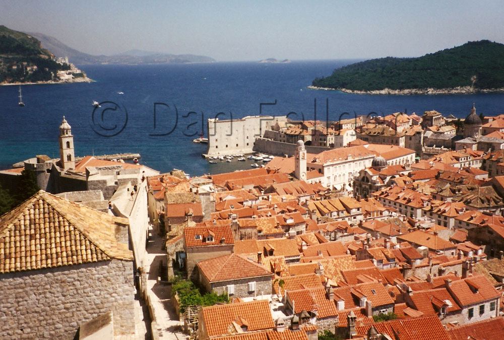View of Dubrovnik Croatia