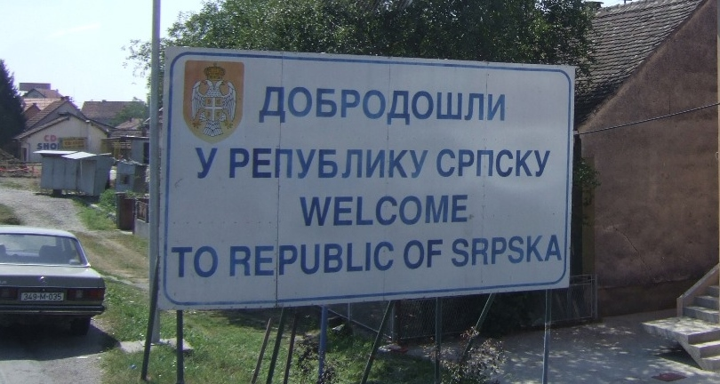 Republic of Srpska border