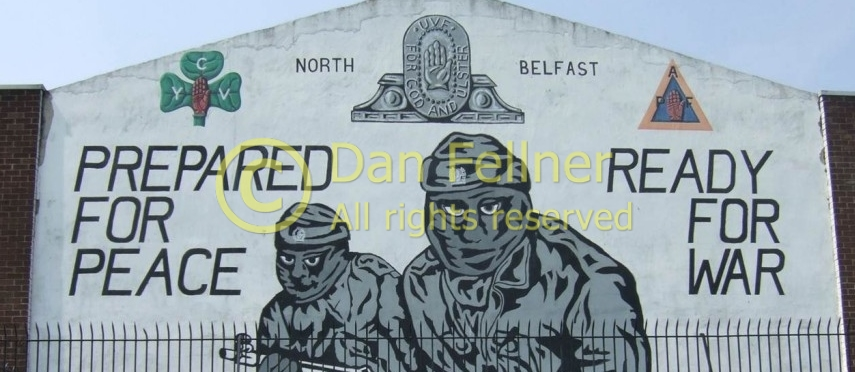 "Photo Essay:  Remnants of ""The Troubles"" in Northern Ireland"