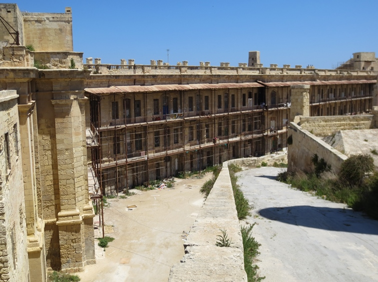 Midnight Express prison yard in Malta