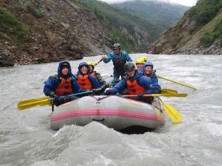 Denali whitewater rafting