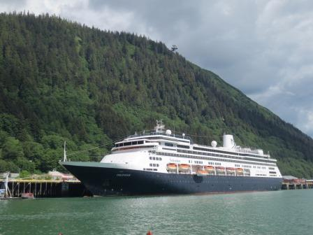 Holland America Volendam in Alaska