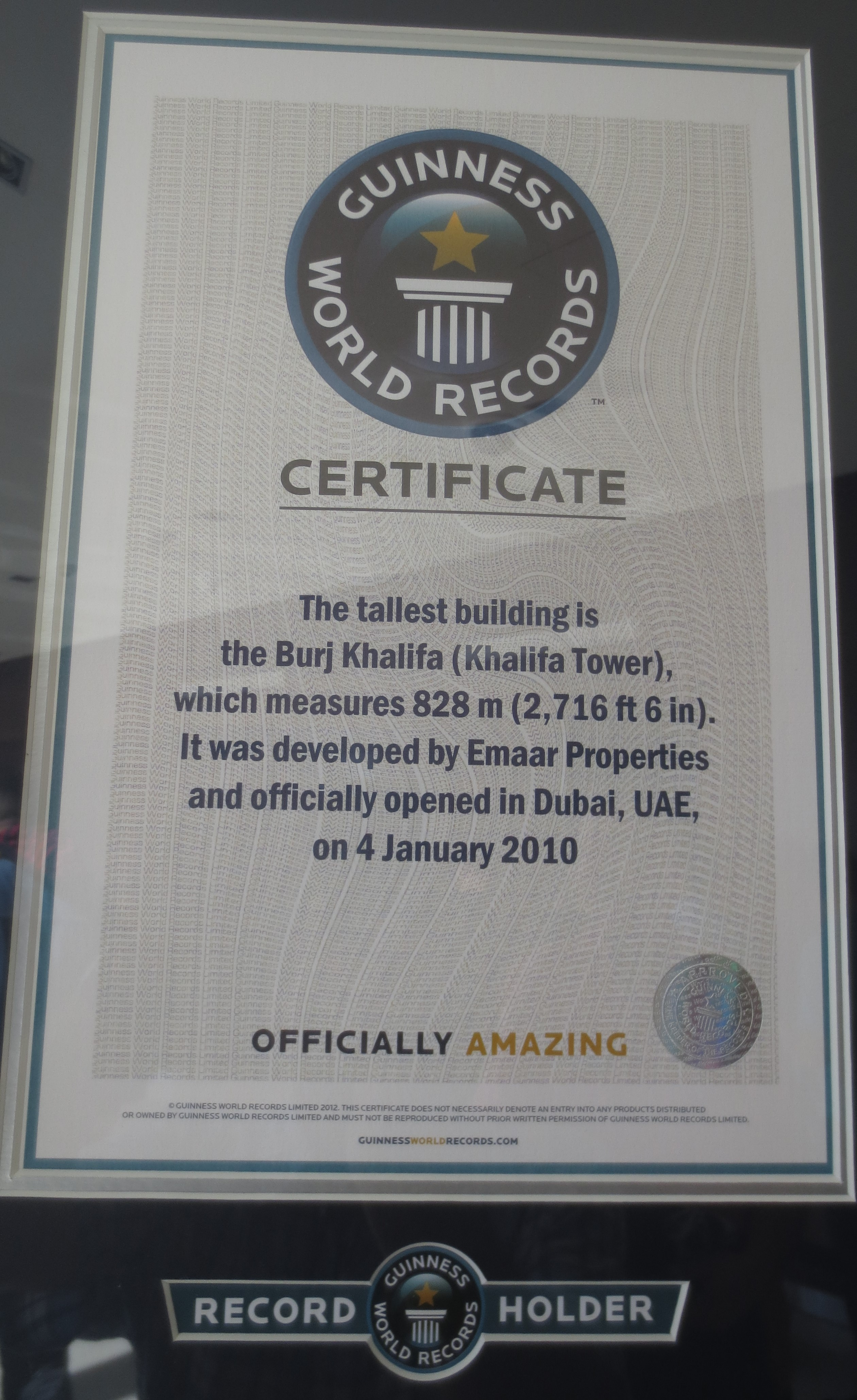 Burj World Record