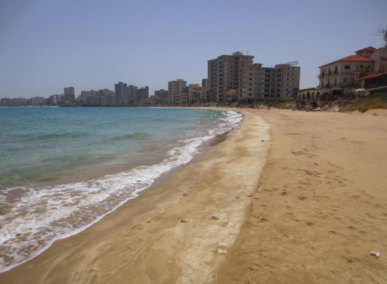Photo Essay:  The eerie beaches of Famagusta, Cyprus