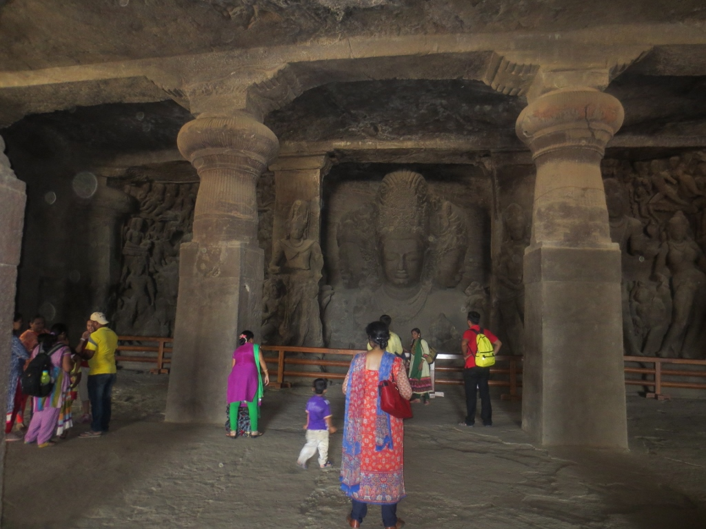 Elephanta Island caves
