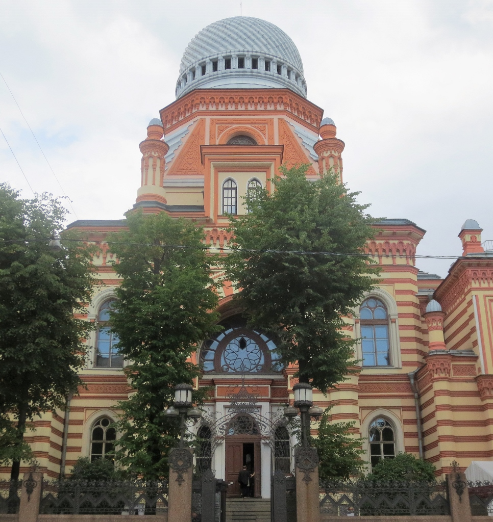 St. Petersburg synagogue