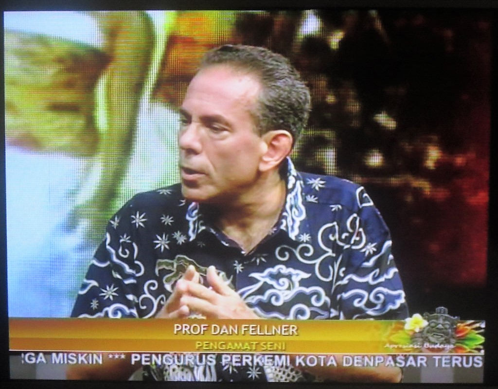 Dan Fellner on Indonesian TV
