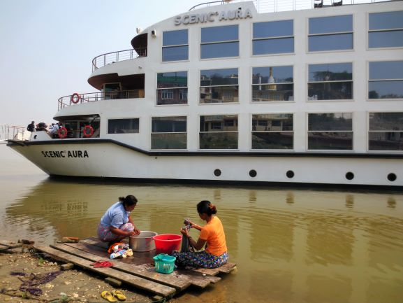 The Irrawaddy:  Cruising Back in Time in Myanmar
