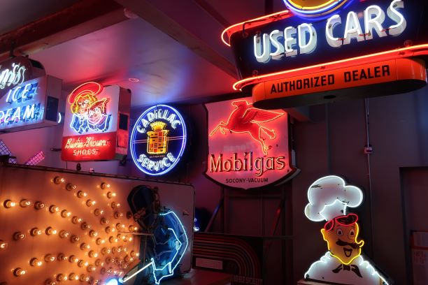 Oregon's Dazzling Neon Sign Museum